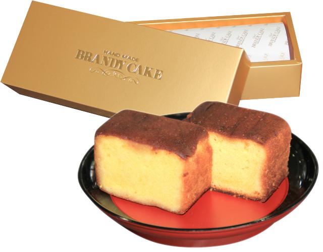 復刻の逸品 ブランデーケーキ