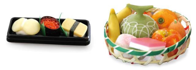 雛菓子「ひな寿司」「ひな籠」